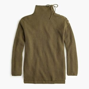 NWT J. Crew ribbed tunic sweater size XXL